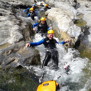 canyoning Pyrénées Saint Lary et espagne