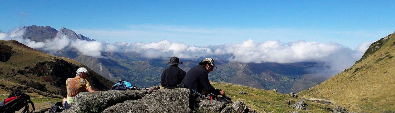 randonnées Pyrénées avec accompagnateur de montagne