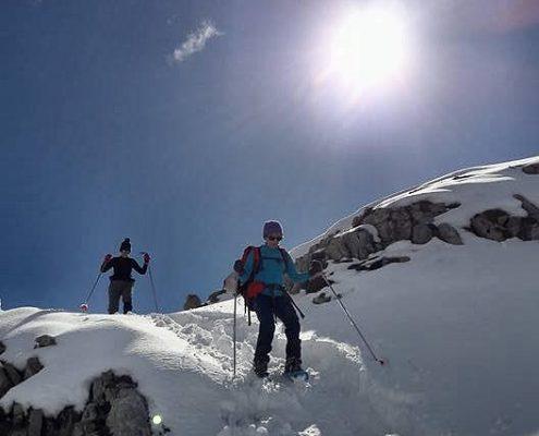 Raquettes neige Saint Lary Pyrénées